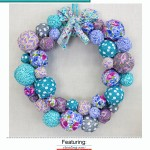 Fabric Wreath Cover