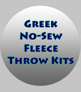 Greek Now Sew Throws