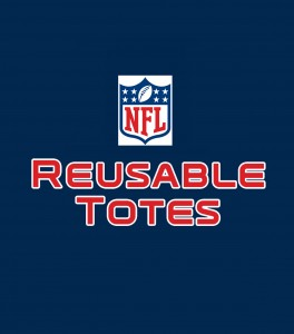 NFL reusable totes