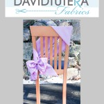 tutera bow chair cover